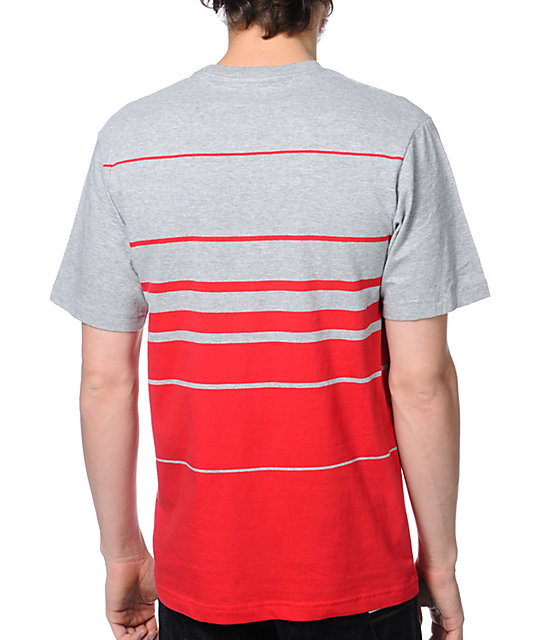 The Hundreds Out Of Here Red & Grey T-Shirt