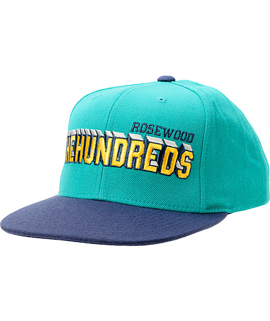 The Hundreds Overtime Green Snapback Hat