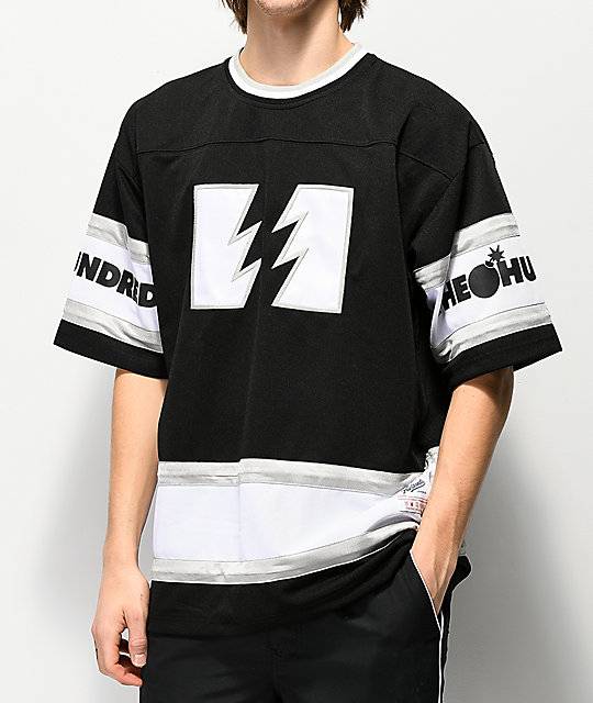 The Hundreds Pacific jersey negra