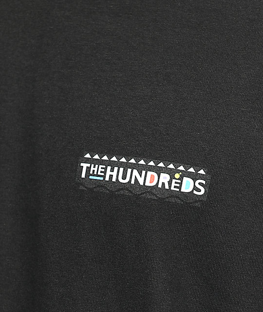 The Hundreds Payne Black T-Shirt