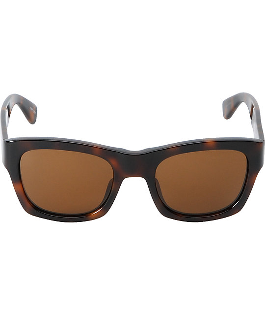 The Hundreds Phoenix Brown Tortoise Sunglasses