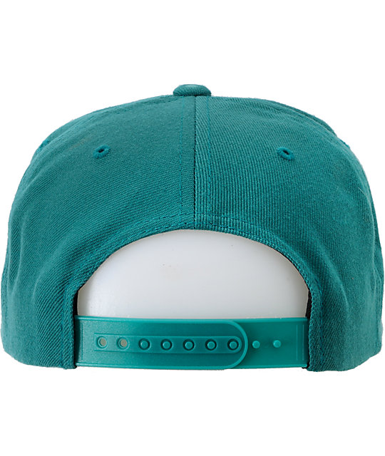 The Hundreds Raiduurs Teal Snapback Hat