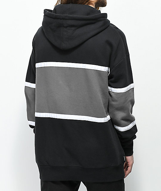 The Hundreds Rebel Black Hoodie
