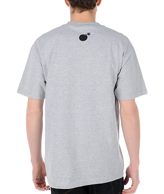 The Hundreds Recycled Heather Grey T-Shirt