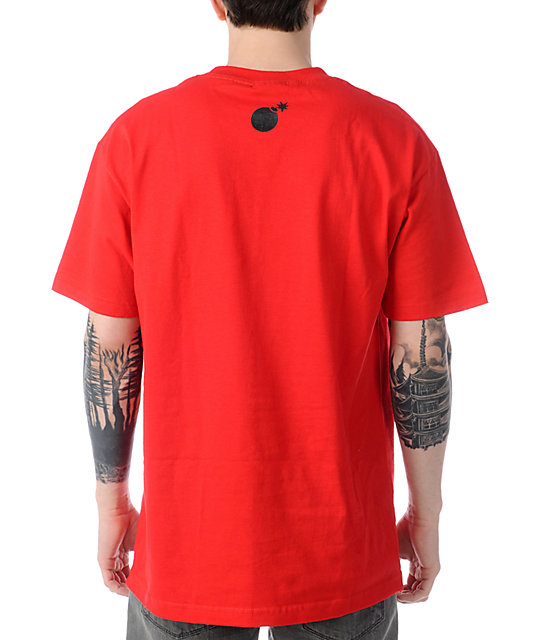 The Hundreds Recycled Red T-Shirt