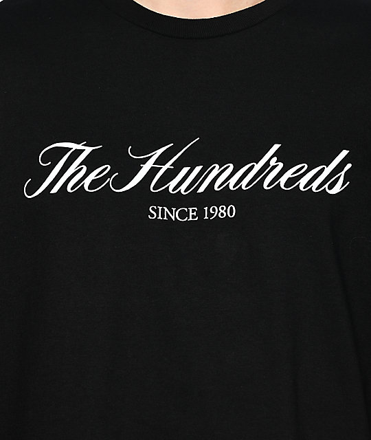 The Hundreds Rich 80 camiseta negra
