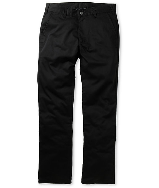 The Hundreds Richie Chino Black Pants