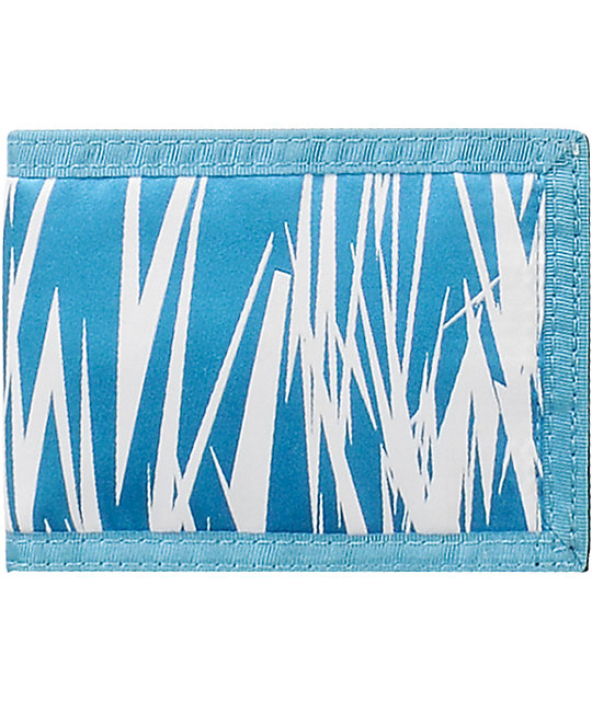 The Hundreds Sam 3 Blue Bifold Wallet