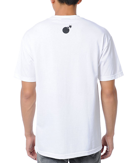 The Hundreds Scratchboard White T-Shirt