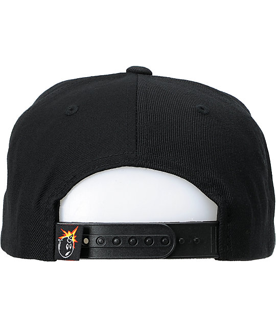 The Hundreds Show Chicago Black, Red & White Snapback Hat