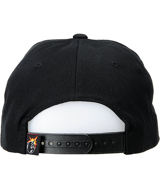 The Hundreds Show Golden ST Black, Blue & Yellow Snapback Hat