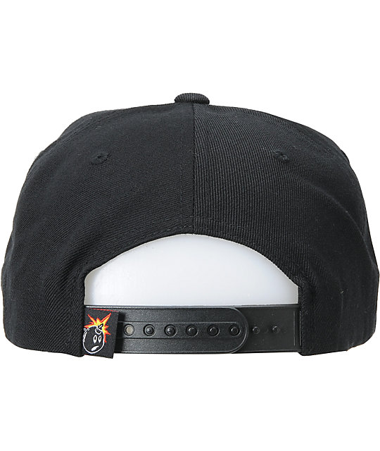The Hundreds Show LA Black, Purple & Gold Snapback Hat