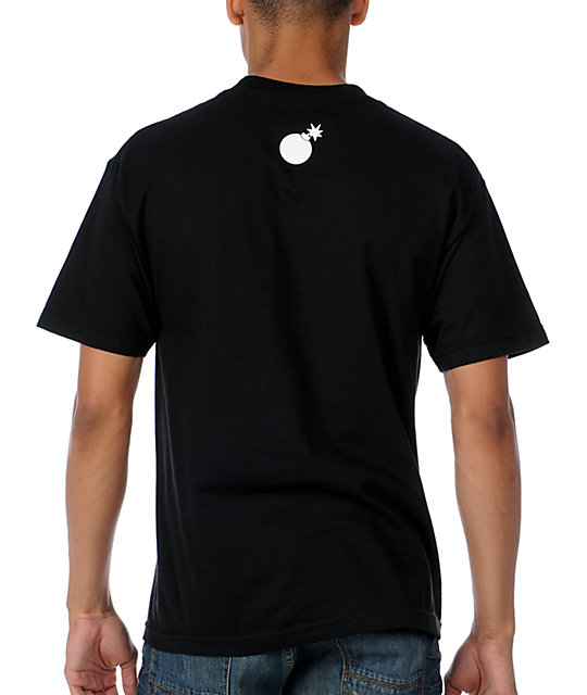 The Hundreds Smear Black T-Shirt