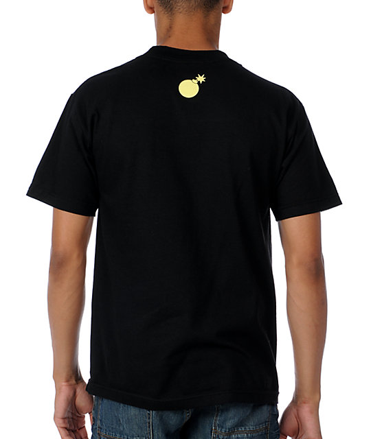 The Hundreds Squeeze Black T-Shirt