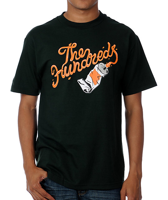The Hundreds Squeeze Forest Green T-Shirt