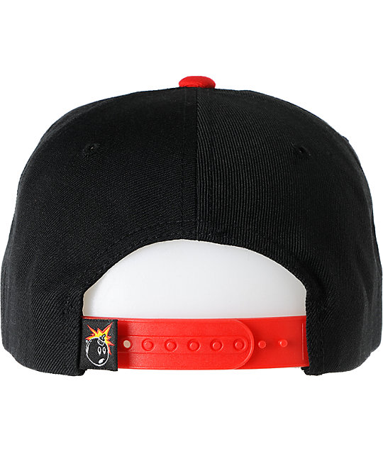 The Hundreds Swish Black Snapback Hat