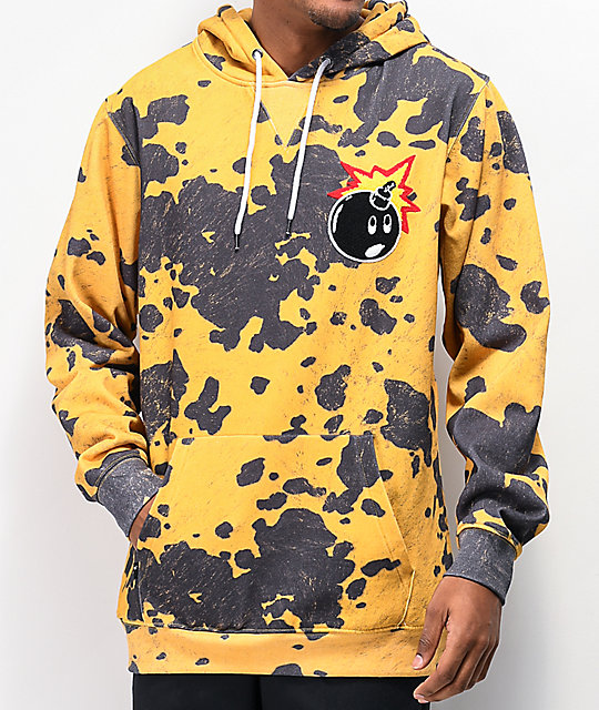 The Hundreds Switchback Yellow Hoodie