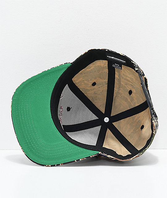 The Hundreds Team Tiger Camo Snapback Hat