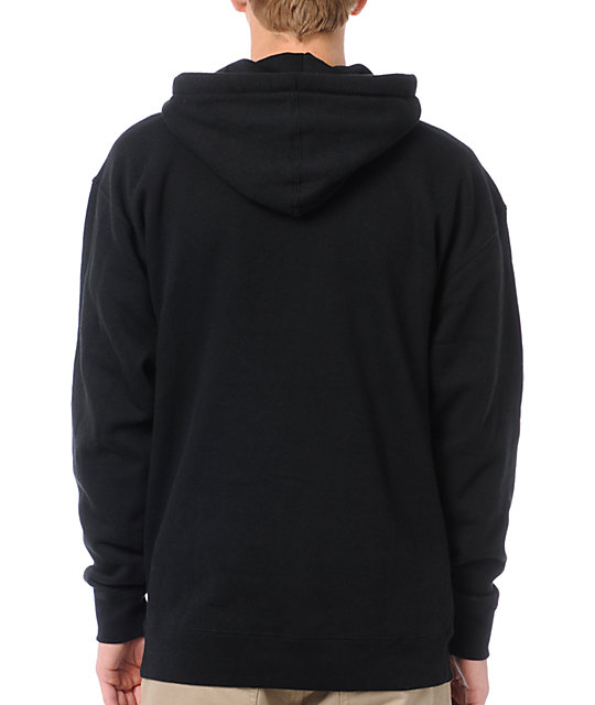 The Hundreds Title Card Black Pullover Hoodie