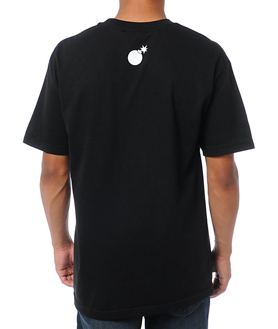 The Hundreds Title Scene Black T-Shirt