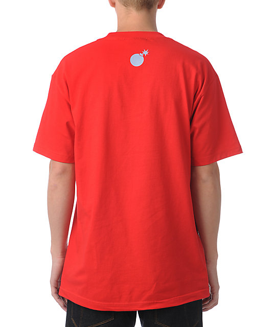 The Hundreds Transition Scene Red T-Shirt