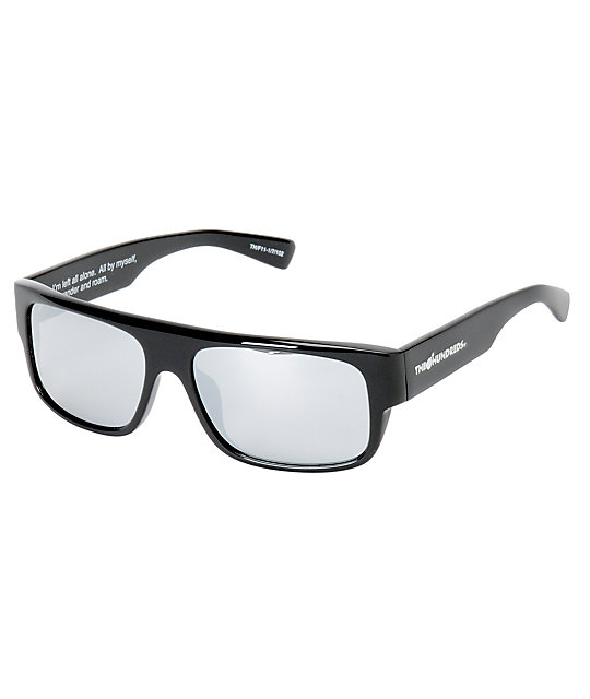 d9e190af352d The Hundreds Valens Black Sunglasses | Zumiez