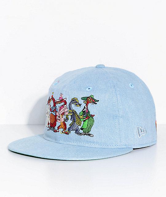 The Hundreds X Who Framed Roger Rabbit Villain Denim Snapback Hat ...