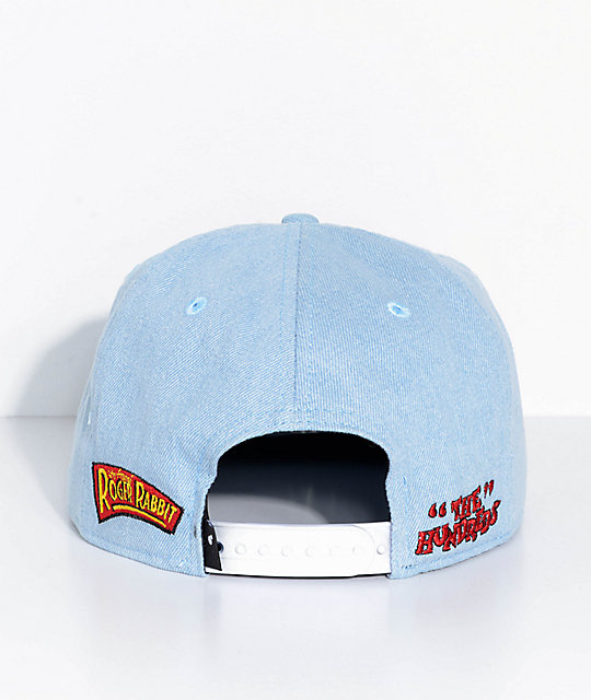 The Hundreds X Who Framed Roger Rabbit gorra de mezclilla de comadrejas