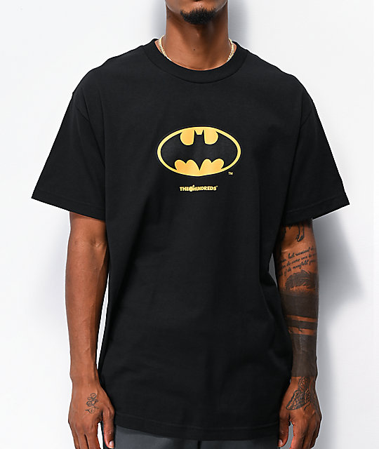 The Hundreds x Batman Bat Black T-Shirt