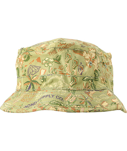 The Hundreds x Diamond Supply Adam Green Bucket Hat