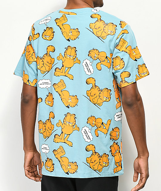 The Hundreds x Garfield Mood Light Blue T-Shirt