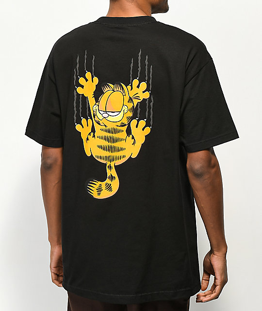 The Hundreds x Garfield Scratch Black T-Shirt