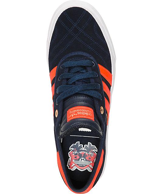 Los zapatos adidas Adi Ease aplastar cientos x zumiez