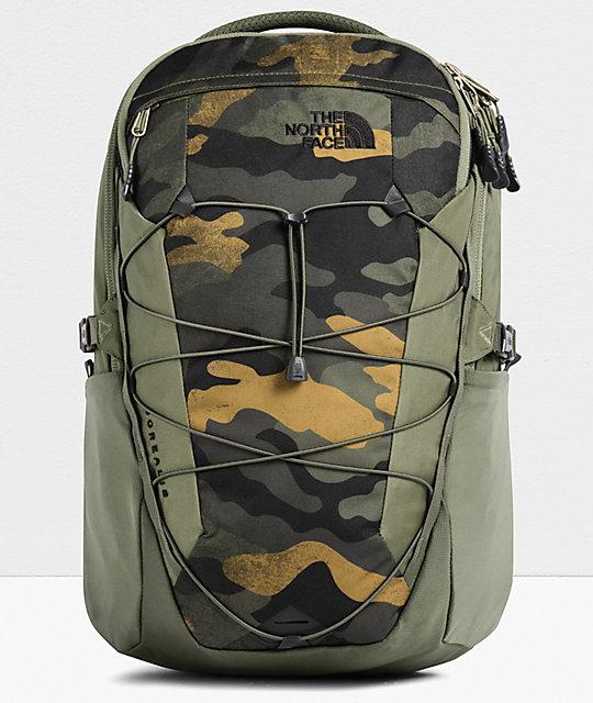 Vorschau von viele Stile geschickte Herstellung The North Face Borealis Burnt Olive Waxed Camo Backpack