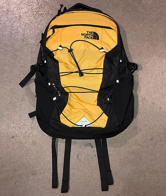 1aa373b0e The North Face Borealis Yellow Ripstop & Black Backpack