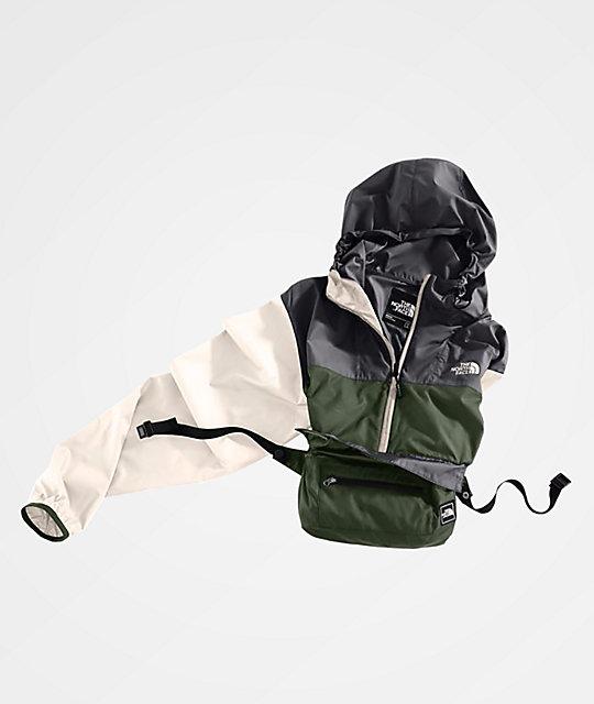 c52d36c82 The North Face Fanorak Four Leaf Clover Anorak Windbreaker Jacket