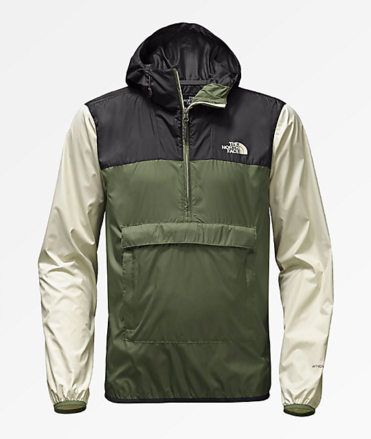 423e2d095 The North Face Fanorak Four Leaf Clover Anorak Windbreaker Jacket