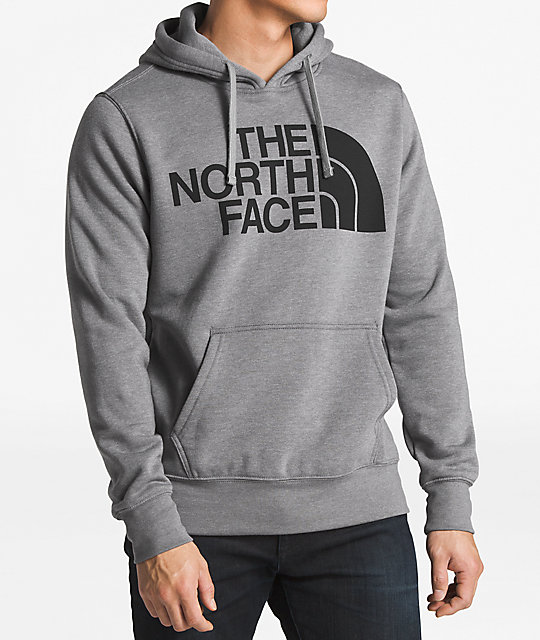 1cc300ad7 The North Face Half Dome Grey & Black Hoodie