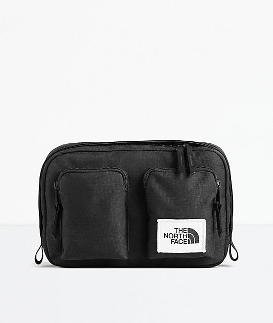 553b715ad The North Face Kanga Black Fanny Pack