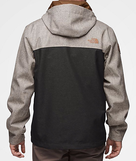 ... The North Face Millerton Monument Grey   Black Jacket ... 7ccf2b498