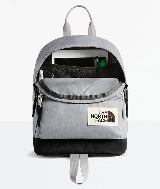promo code eb418 16cdf The North Face Mini Mini Berkeley Grey Mini Backback   Zumiez.ca