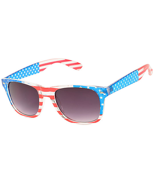 The Patriot Classic Clear Sunglasses