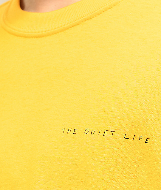 The Quiet Life Hoeckel camiseta dorada de manga larga