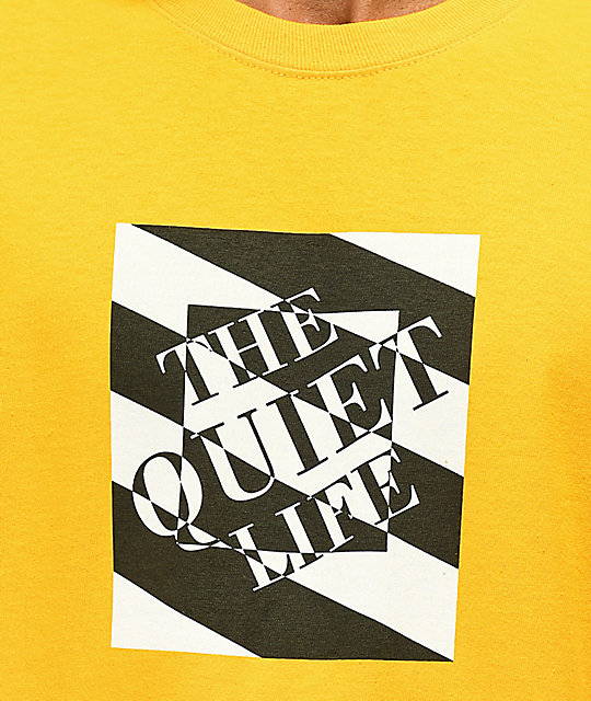 The Quiet Life Optical Gold Long Sleeve T-Shirt
