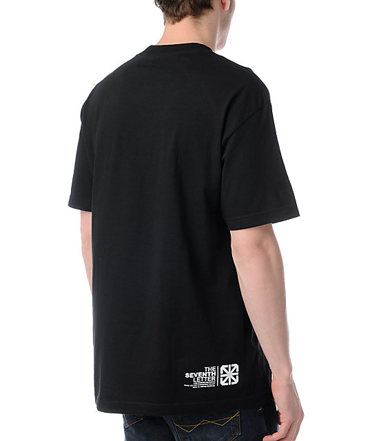 The Seventh Letter Alpine Black T-Shirt
