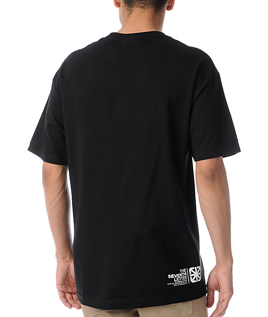 The Seventh Letter Identity Black T-Shirt