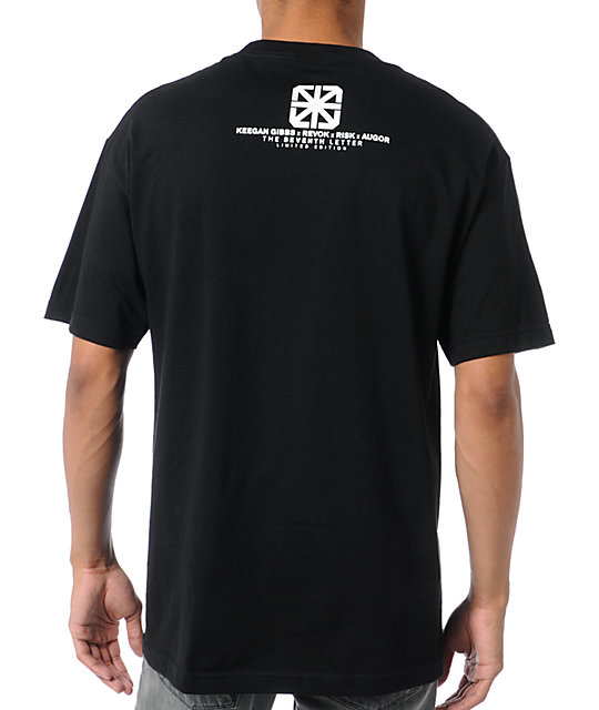 The Seventh Letter Nightlife Black T-Shirt