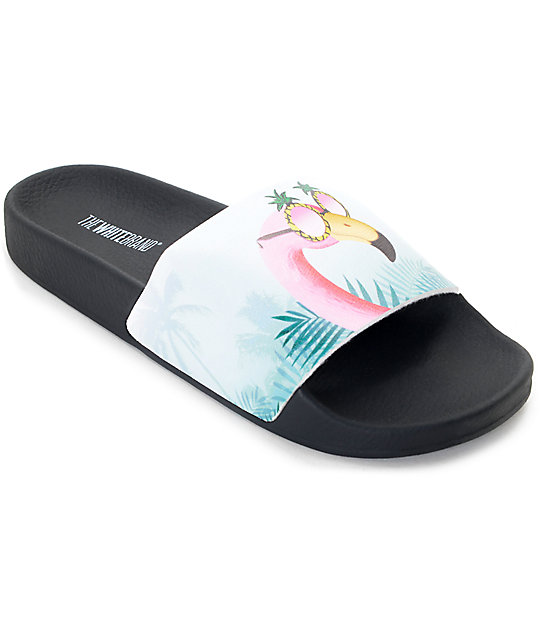 445c367cf606f TheWhiteBrand Flamingo Slide Women s Sandals