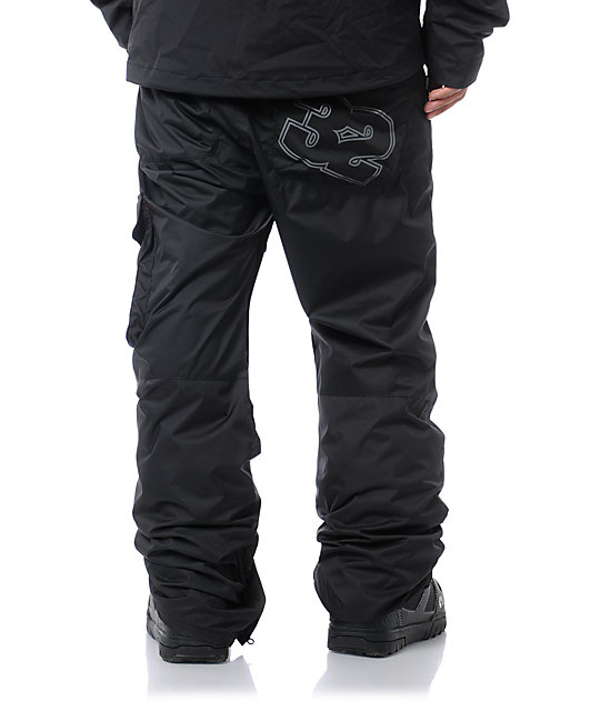 ThirtyTwo Basement Black 8K Snowboard Pants