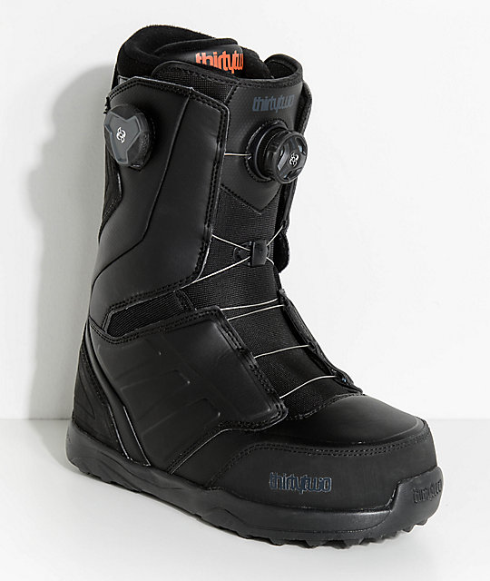 ThirtyTwo Lashed Black Boa Snowboard Boots